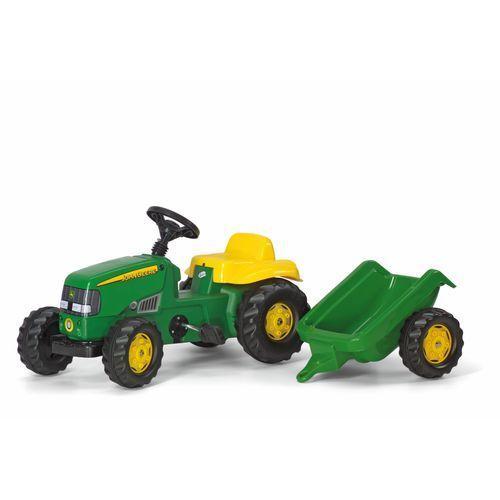 Rolly toys rollykid traktor na pedały john deere z przyczepką 2-5 lat (4006485012190)