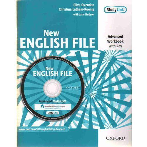 English File NEW Advanced WB With Key + CD OXFORD - Praca zbiorowa (2010)