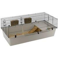 Ferplast rabbit 160 ekskluzywna klatka dla królika z wyposażeniem