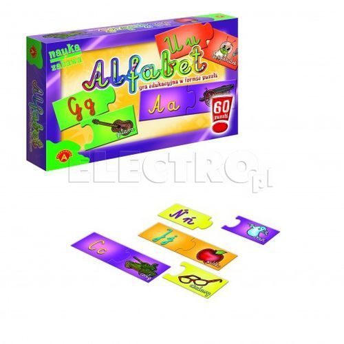 Puzzle alfabet marki Alexander