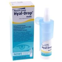 Hyal drop multi krople hyal drop multi marki Bausch & lomb