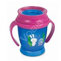Lovi 360 kubek lovi (210 ml) mini - follow the rabbit girl marki Canpol