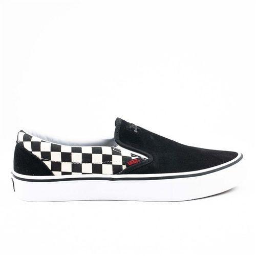 Buty - slip-on pro (thrasher) black/checkerboard (oj6) rozmiar: 45, Vans