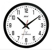 TIM-ZEGAR300W Zegar ścienny, tarcza biała, DCF