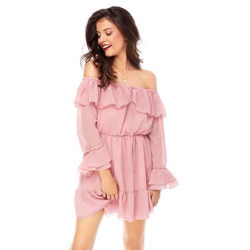 be5ef3ef Sukienka Calla w kolorze różowym, kolor różowy (Sugarfree)