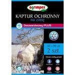 Dwuwarstwowy Kaptur ochronny na zimę Agrimpex Plus 65x90 cm 2szt. (5907547408304)