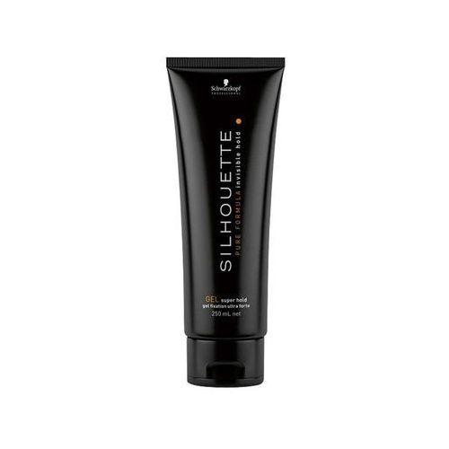 Schwarzkopf professional silhouette super hold żel do włosów strong (gel super hold) 250 ml