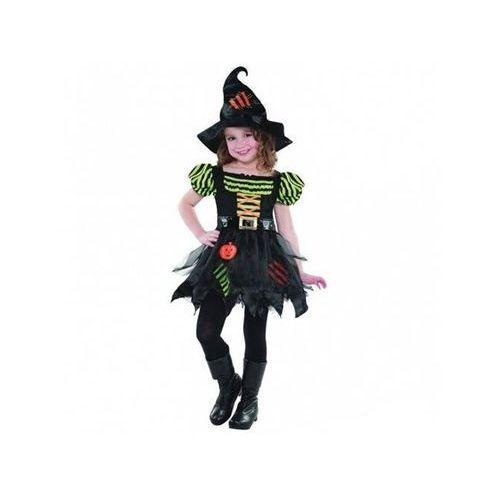 Kostium Dyniowa Czarownica dla dziewczynki - 5/7 lat (116) (0013051503130)