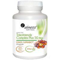 Kapsułki Tokotrienols Complex PLUS 50 mg EVNOL SUPRABIO 60 kapsułek - witamina E + koenzym Q10 – Al
