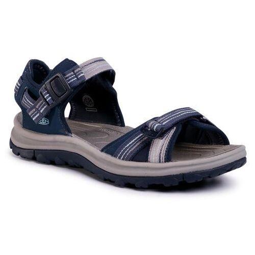 Sandały KEEN - Terradora II Open Toe Sandal 1022449 Navy/Light Blue, 1 rozmiar