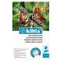 kiltix obroża średnia 53cm + drontal 2 tab - 1 tab na 35kg marki Bayer