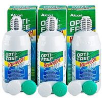 Płyn opti-free replenish 3 x 300 ml marki Alcon