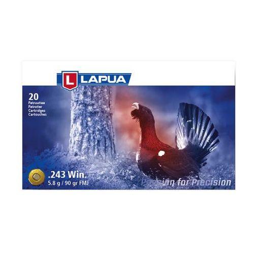 Amunicja LAPUA.243 Win. 5,8g/90gr FMJ