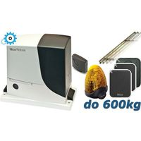 robus 600 xxl do 600kg zestaw automatyki - 6mb listwy zębatej marki Nice