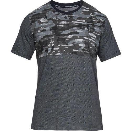Under armour koszulka sportstyle cotton mesh tee szara - szary