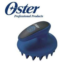 Oster - Coarse Curry Comb - zgrzebło dla koni z grubym, gumowym włosem, niebieskie