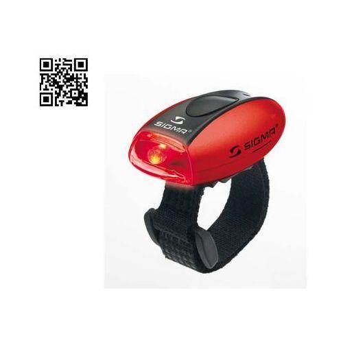- sigma lampka rowerowa tylna micro - kolor czerwony marki Sigma