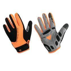 Accent 610-80-56_acc-l rękawiczki z długimi palcami champion czarno-pomarańczowe l