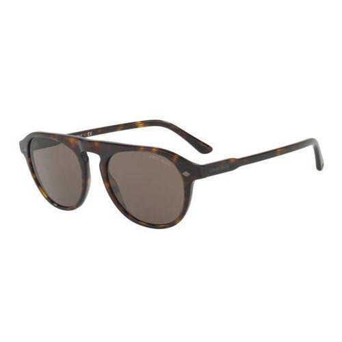 Okulary Słoneczne Giorgio Armani AR8096 502653, kolor żółty