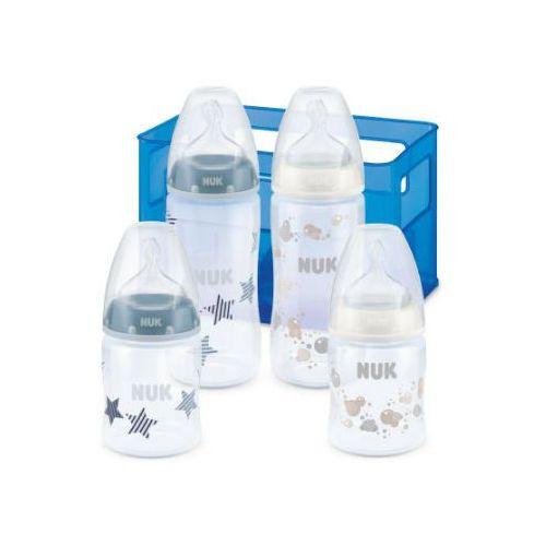 Nuk zestaw butelek antykolkowych first choice boy