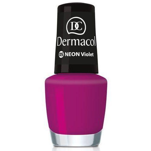 Neon neonowy lakier do paznokci odcień 14 kiss 5 ml Dermacol
