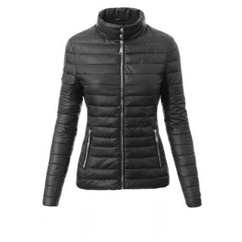 Damska kurtka wiosenna w kolorze czarnym