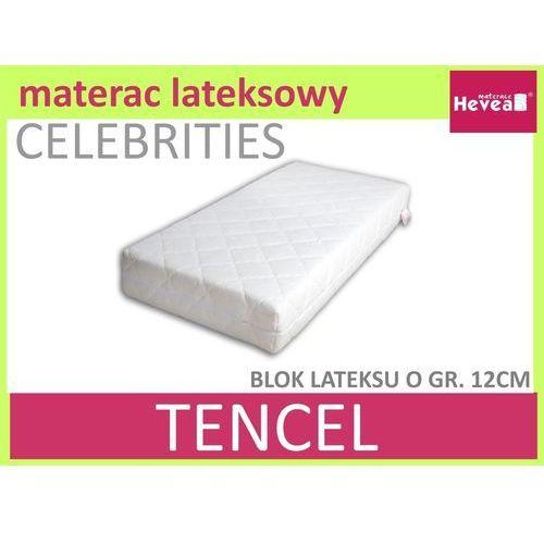 Dziecięcy materac lateksowy Hevea Celebrities Baby 70x140