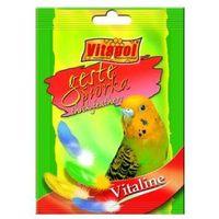 Vitapol vitaline gęste piórka dla papugi falistej 20g