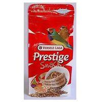 Versele-laga prestige snack finches 125g przysmak z owocami i insektami dla ptaków tropikalnych