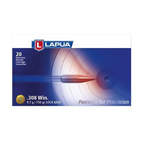 Amunicja LAPUA.308 Win LOCK BASE 9,72g/150gr FMJ