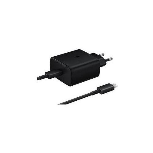 Ładowarka do sieci Samsung EP-TA845 s podporou rychlonabíjení (45W) (EP-TA845XBEGWW) Czarna (8806090104527)