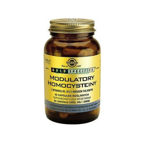Kapsułki SOLGAR Modulatory Homocysteiny z wit.B6,B12 i kwasem foliowym, 60 kapsułek