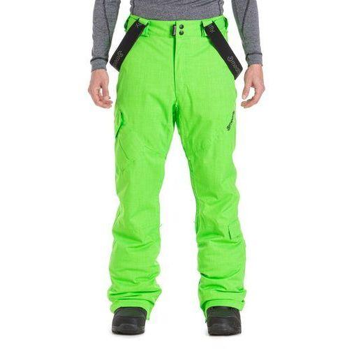 Meatfly męskie spodnie narciarskie ghost 4 pants safety green s