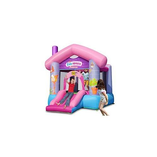 Dmuchany domek Happy Hop - Fun House - różowy (6933491992155)