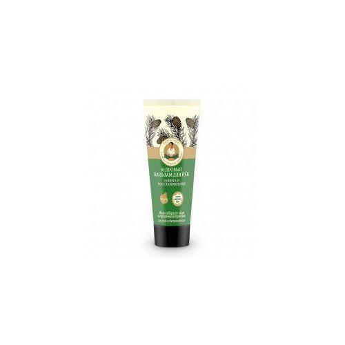 Babuszka agafia , cedrowy balsam do dłoni, ochrona i regeneracja, 75ml - Świetny upust