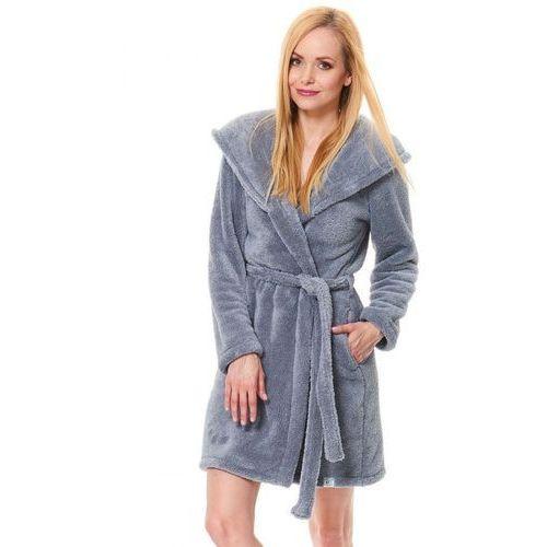 f2de8eae5e3f17 Dn-nightwear ssw.9571 szlafrok z kapturem, , M-XL (Dobranocka ...