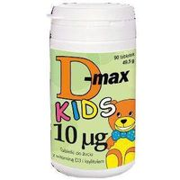 D-Max Kids 10mcg x 90 tabletek do żucia
