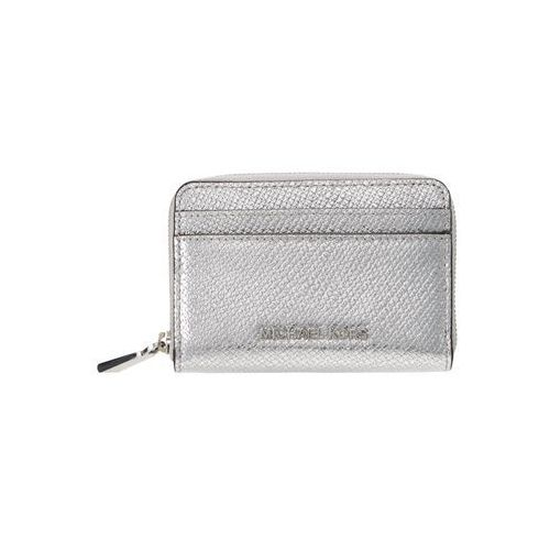 MICHAEL Michael Kors MONEY PIECES CARD CASE Portfel silver