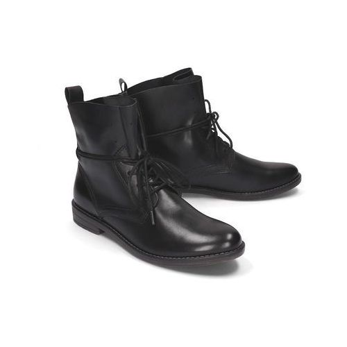 MARCO TOZZI 25133-33 002 black antic, botki damskie, kolor czarny