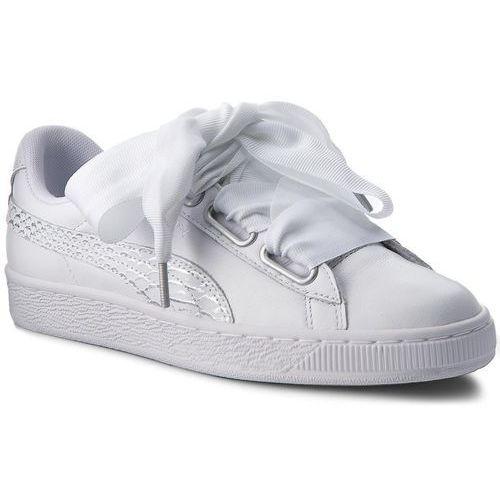 Sneakersy Basket Heart Oceanaire Wn's 366443 02 White White (Puma)