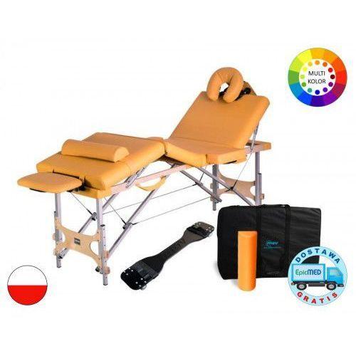 Składany stół do masażu cosmo alu z regulacją wysokości marki Mov