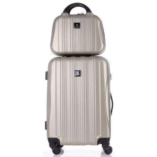 d974b6d5a3e66 Praktyczny zestaw walizek 2w1 renomowanej marki ziemiste (kolory) marki  Madisson - Zdjęcie produktu