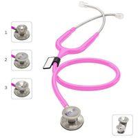 Stetoskop md one epoch 777dt z tytanu z głowicą 4w1 - różowy-cyklamenowy marki Mdf