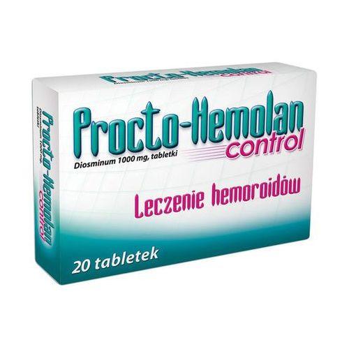 Tabletki PROCTO-HEMOLAN CONTROL 1000 mg 20 tabletek