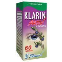 Tabletki Klarin ACTIV z luteiną tabl. - 60 tabl.