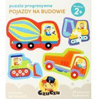 Bright junior media Puzzle progresywne pojazdy na budowie (5902983490074)