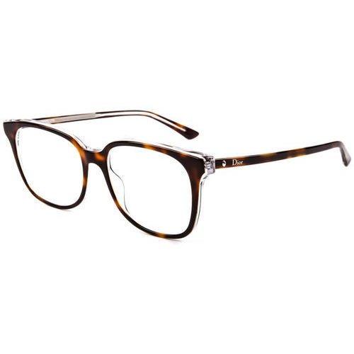 Okulary korekcyjne montaigne 26 u61 Dior