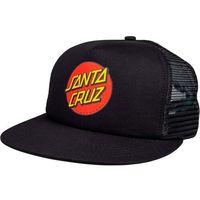 czapka z daszkiem SANTA CRUZ - Classic Dot Mesh Cap Black/Black (BLACK-BLACK)