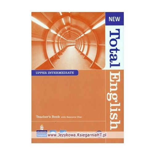 New Total English Upper-Intermediate, Teacher's Book (książka nauczyciela), oprawa miękka