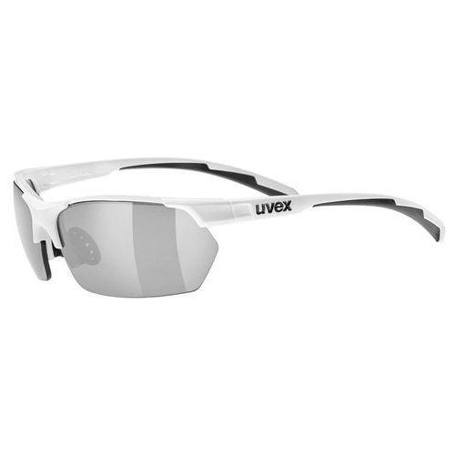 Uvex Sportstyle 114 - okulary przeciwsłoneczne (biały) (4043197274515)